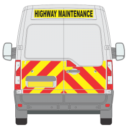 Renault Master 2010 on H2 Half Height (RMAS008)