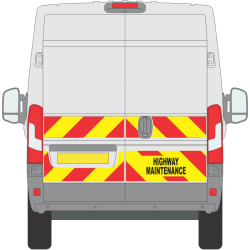 Peugeot Boxer 2014 on Half Height Magnetics (PBOX007)