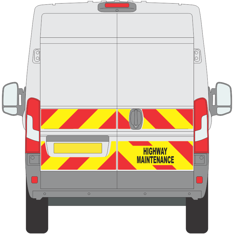 Fiat Ducato 2014 on Half Height Magnetic (FDUC009)