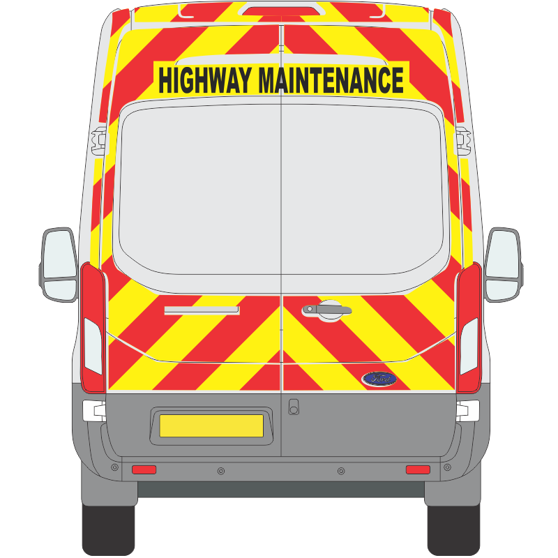 Ford Transit 2014 on H3 Full Height Full Coverage No Windows (FTRA026)