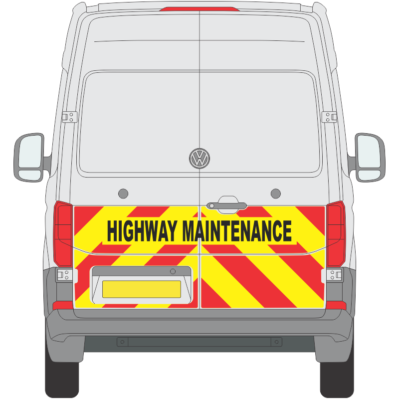 VW Crafter 2017 on Half Height Magnetics (VCRA009)